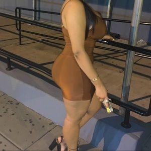 Mocha Slinky Dress
